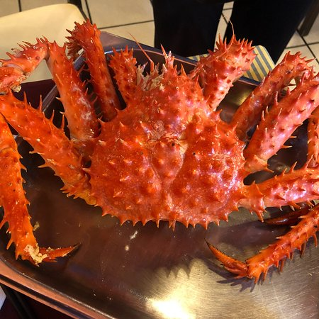 Yummy king crab!