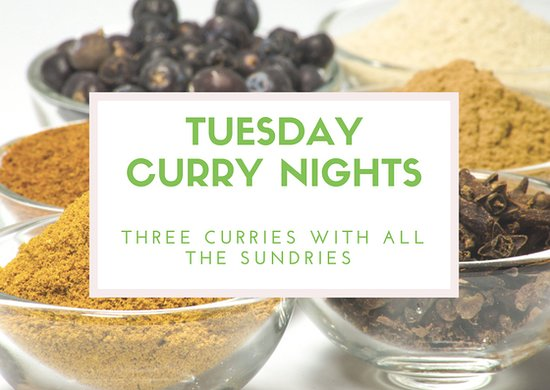 The Martlet Inn: Tuesday is curry night!