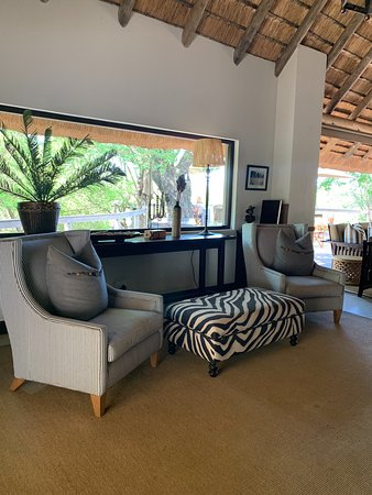 Londolozi Private Game Reserve, South Africa: Lounge