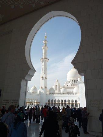 Sheikh Zayed Grand Mosque Center: Particolare dell'ingresso