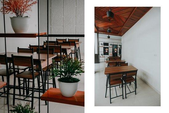 Curup, إندونيسيا: Ruang makan