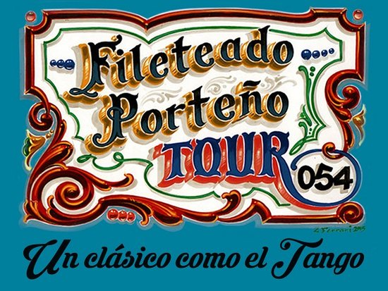 ‪Fileteado Porteño Tour 054‬