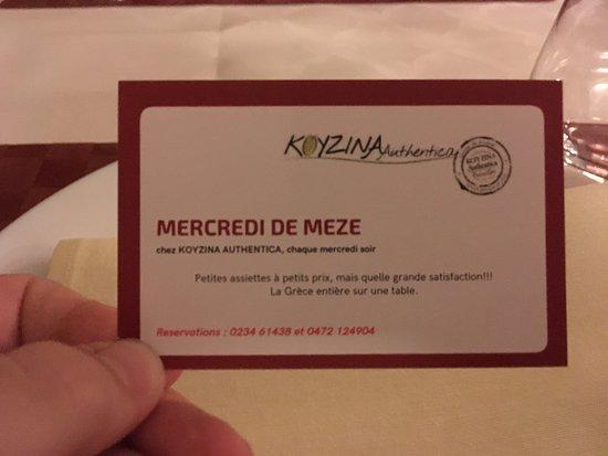 Uccle, เบลเยียม: Mercedi de Meze #trvlrcomunity #travelingtoinfinity #eatandfeed