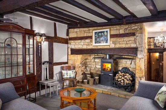 Guest Lounge with Log Burner