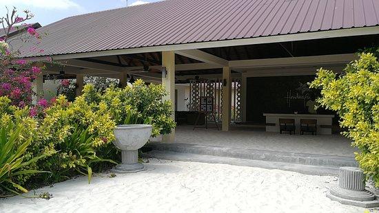 Hondaafushi Island Resort: réception