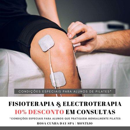 Hoje destacamos um dos nossos serviços de saúde, Consultas de #Fisioterapia, complementadas com Electroterapia, com a Fisioterapeuta Jessyca...