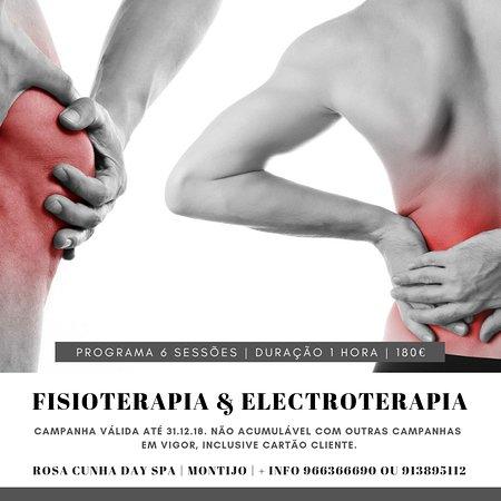 Consultas de Fisioterapia & Electroterapia...Valorizamos a sua Saúde!