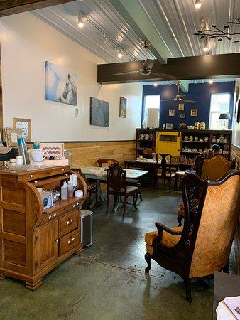 Quaint English tea cafe