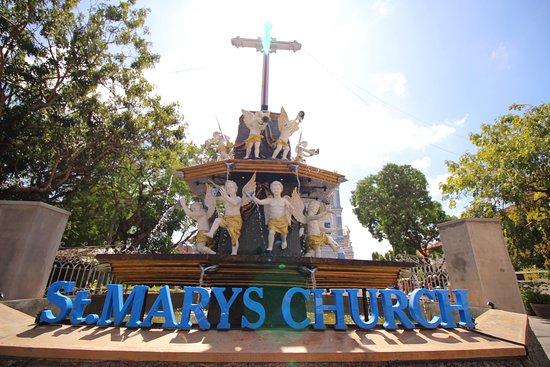 St. Mary's Church: The entrance to the church
