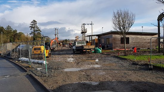 Hafan y Mor Holiday Park - Haven : The old Bonga Wonga getting a refurb January 2019