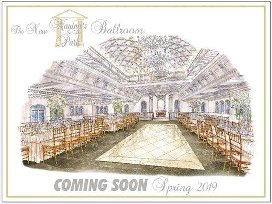 Belleville, Нью-Джерси: New Ballroom rendering