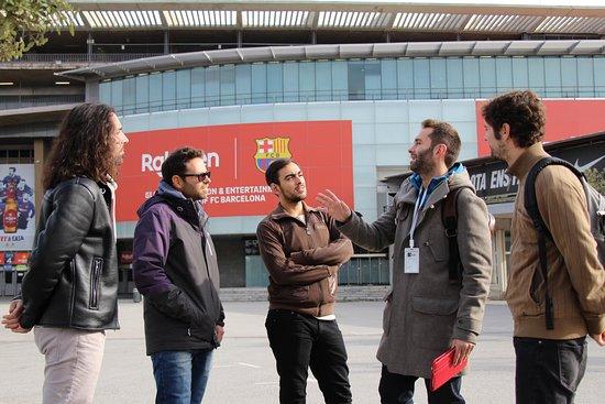 Tour del Fútbol Barcelona