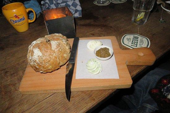 broodplankje in het Boscafé 't Hijgend Hert