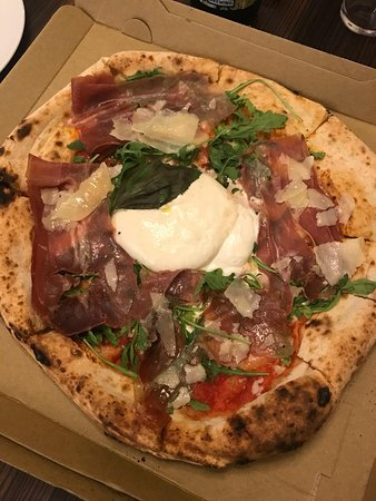 Pizza Premiada Picture Of Pizza Posto Edinburgh Tripadvisor