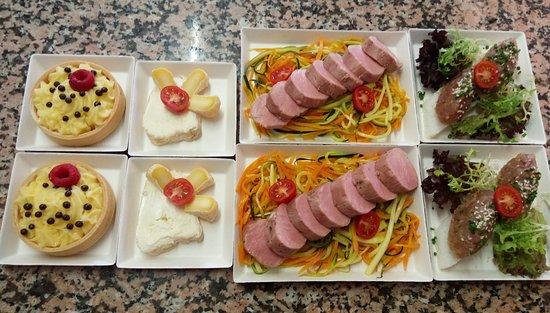 Pont-et-Massene, Frankreich: plateau repas sur commande