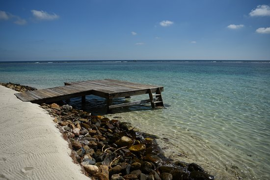 South Water Caye, Belize: crystal clear water