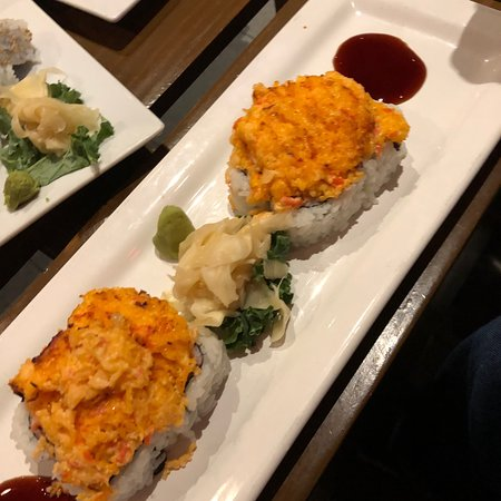 Best sushi in Fort!