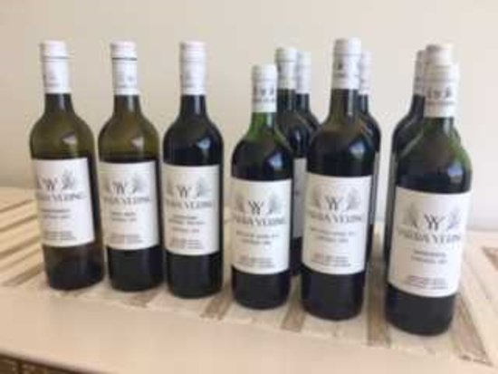 Yarra Yering : some of the wines tasted...