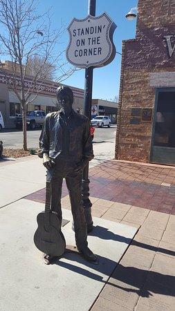 Standin' on the Corner Park: Jackson Browne.