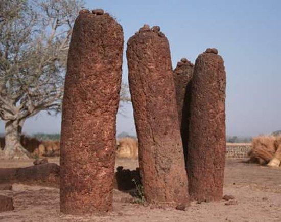 Stones Circles in Wassu.