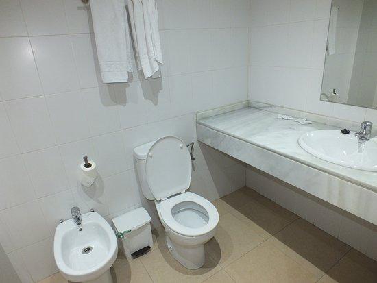 Apartamentos ELE Domocenter: Casa de banho do Apartamento estudio