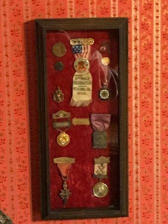 Family memorabilia - Picture of Zalud House, Porterville
