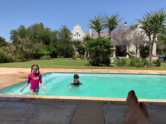 Pool and grounds at Uplands Homestead