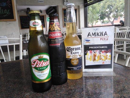 Amkha Peru: Nuestras bebidas acompañantes