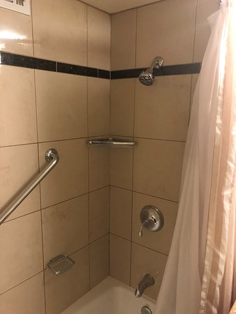 Picture showing how LOW the shower head was mounted!!