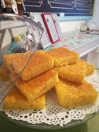 homemade orange cake :)