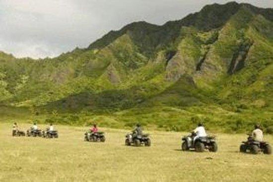Kualoa Ranch ATV Adventure Package