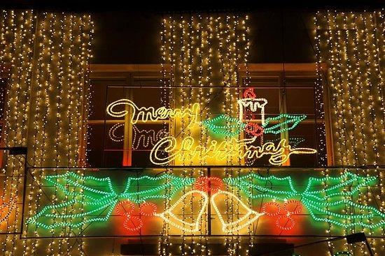 私人旅游:伦敦圣诞灯的传统黑色出租车之旅