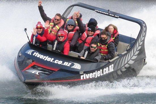 Jet Boat Fahrt auf dem Waikato River...