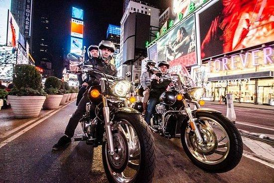 曼哈顿市中心私人摩托车观光旅游
