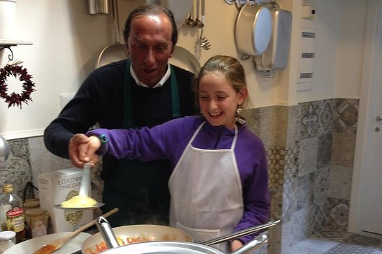Cooking in Sorrento