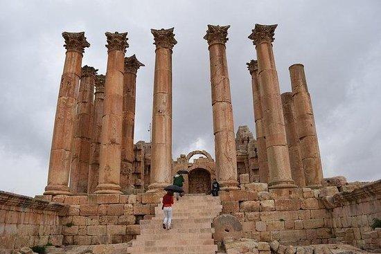 アンマンからのJerash、Umm Qais、Ajloun Castleへの…