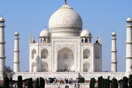 Private Full-Day Taj Mahal Tour from...