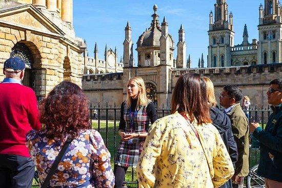 Tour a piedi dell'università di Oxford