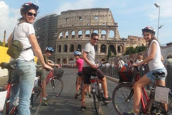 骑自行车游览罗马 - 骑在罗马最着名的地方