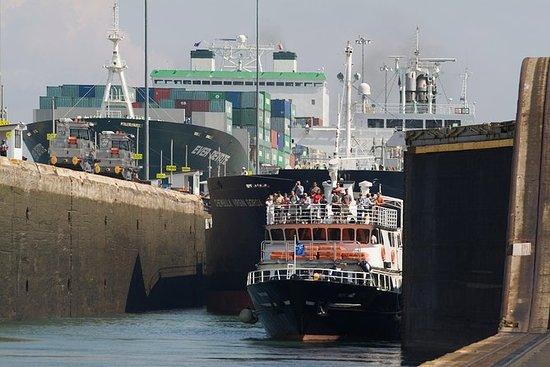 Delvis omvisning av Panamakanalen...