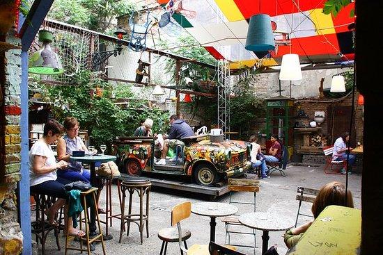 布达佩斯废墟酒吧步行