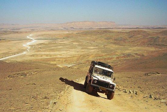 Ramon Crater Jeep Tour fra Mitzpe...