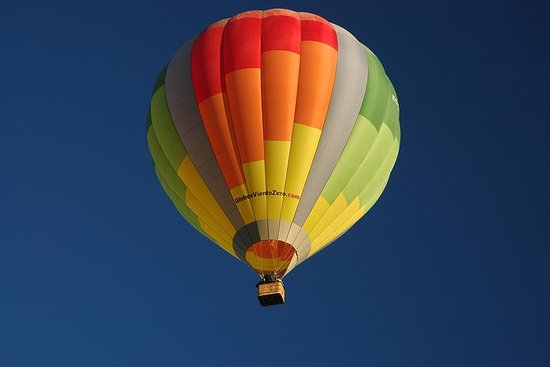 Balloon flights over Madrid, Segovia...