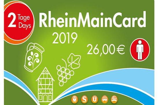 2-dagers RheinMainCard