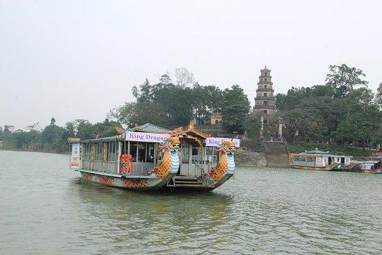 Hue: Thien Mu Pagoda av Dragon Boat