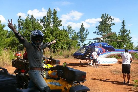 ATV Quad Bike and Helicopter...