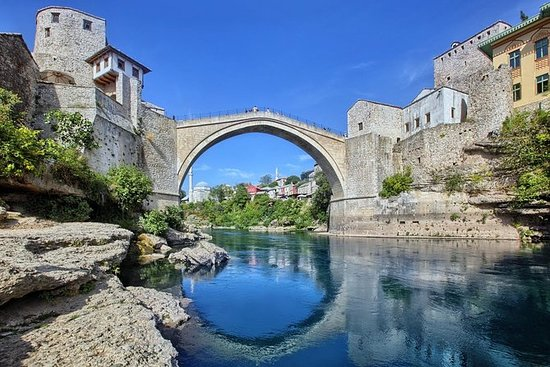 Mostar, Pocitelj and Kravice Waterfalls Private Tour from Dubrovnik: Mostar, Pocitelj and Kravice Waterfalls Private Tour from Dubrovnik