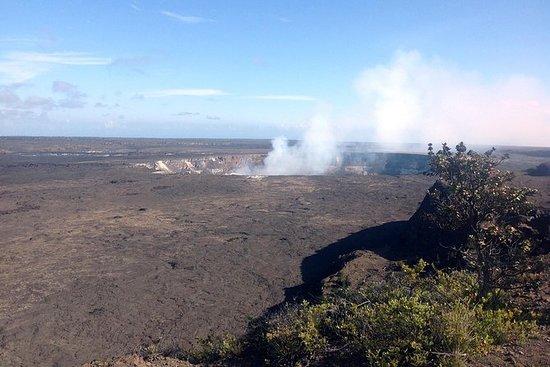 Cumbre de Kilauea a la orilla de Kona...