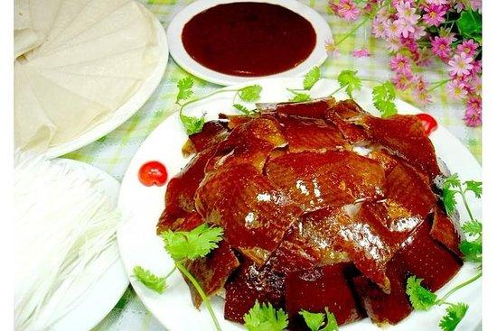 紫禁城参观大东北京鸭子晚餐