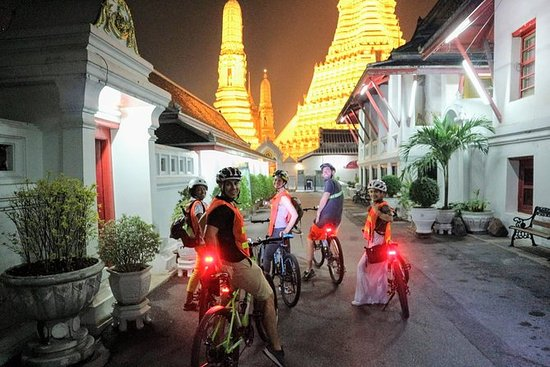 Cycle Bangkok at Night and Cook Thai...